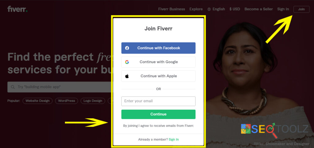 Lets-create-a-Fiverr-account.