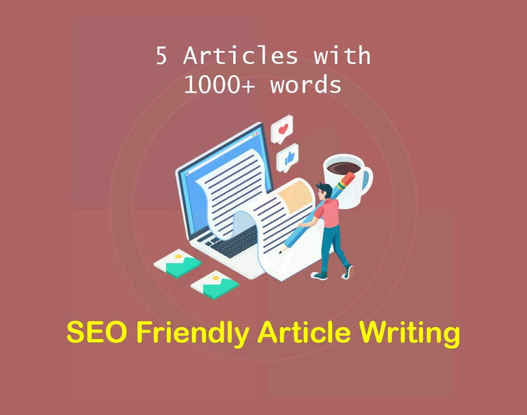 SEO friendly content, article & blog writing